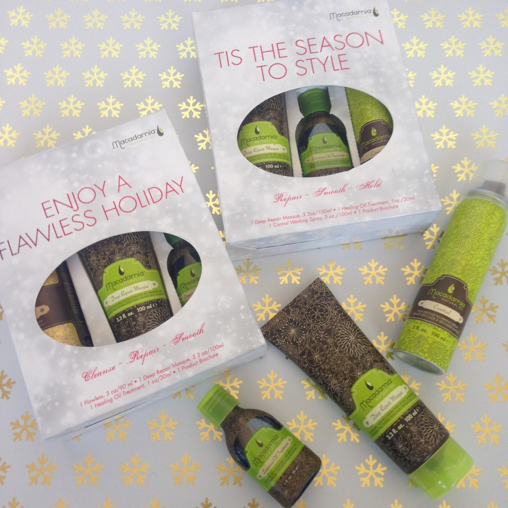 Macadamia Natural Oil Christmas Gift Sets