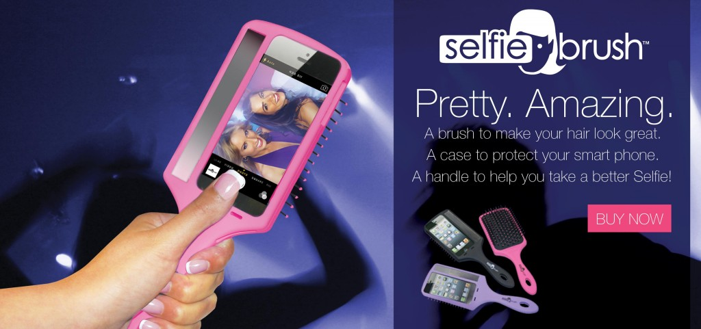 The Selfie Brush at i-glamour.com