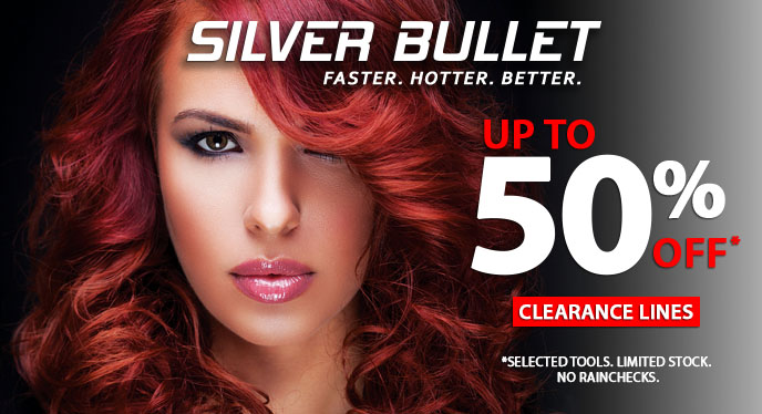 Silver Bullet Hair Products 50% Of at i-glamour