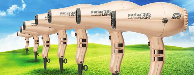 New Light Gold Parlux 385 Hair Dryer in Australia. What? Where?