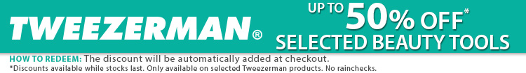 Tweezerman Sale at i-glamour