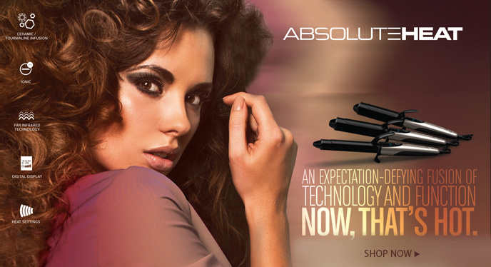 Buy AbsoluteHeat Curling Iron from i-glamour